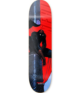 PRIMITIVE NEAL SPIDERMAN DECK RED - 8.0