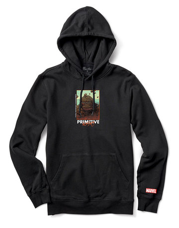 PRIMITIVE THING HOOD - BLACK