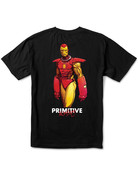 PRIMITIVE IRON MAN TEE - BLACK