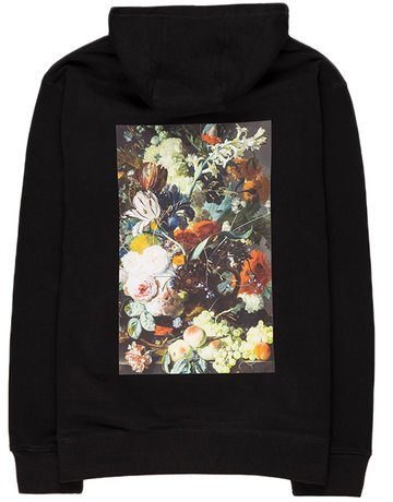 POETIC COLLECTIVE FLOWER HOOD - NAVY