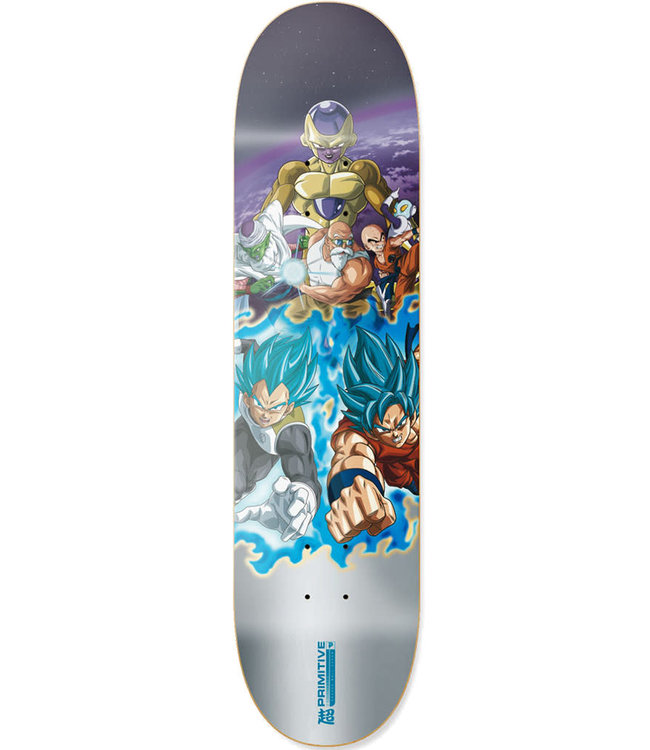 PRIMITIVE TEAM RESURRECTION DECK SILVER - 7.0