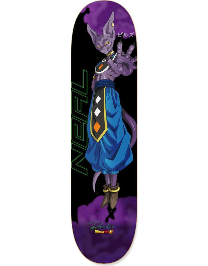 PRIMITIVE NEAL BEERUS DECK PURPLE - 8.125