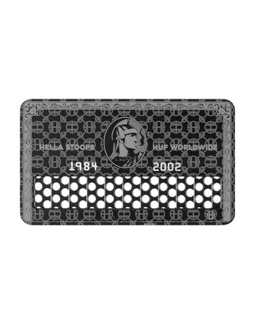 HUF BLACK CARD SHREDDER - BLACK