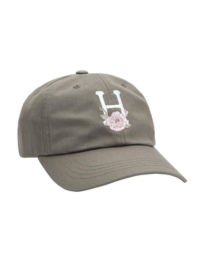 HUF CENTRAL PARK CV 6 PANEL HAT - DUSTY OLIVE