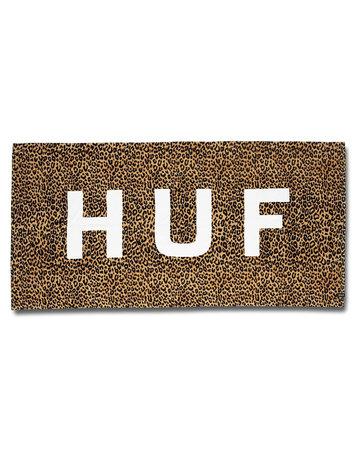 HUF HUF BEACH TOWEL - LEOPARD