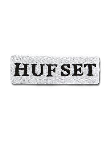 HUF HUFSET HEADBAND - WHITE