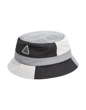 HUF WAVE NYLON BUCKET HAT - BLACK