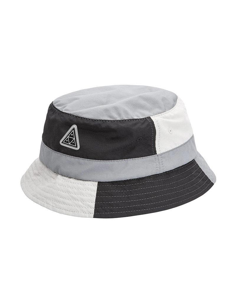 HUF WAVE NYLON BUCKET HAT - BLACK