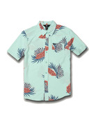 VOLCOM BERMUDA S/S - RESIN BLUE