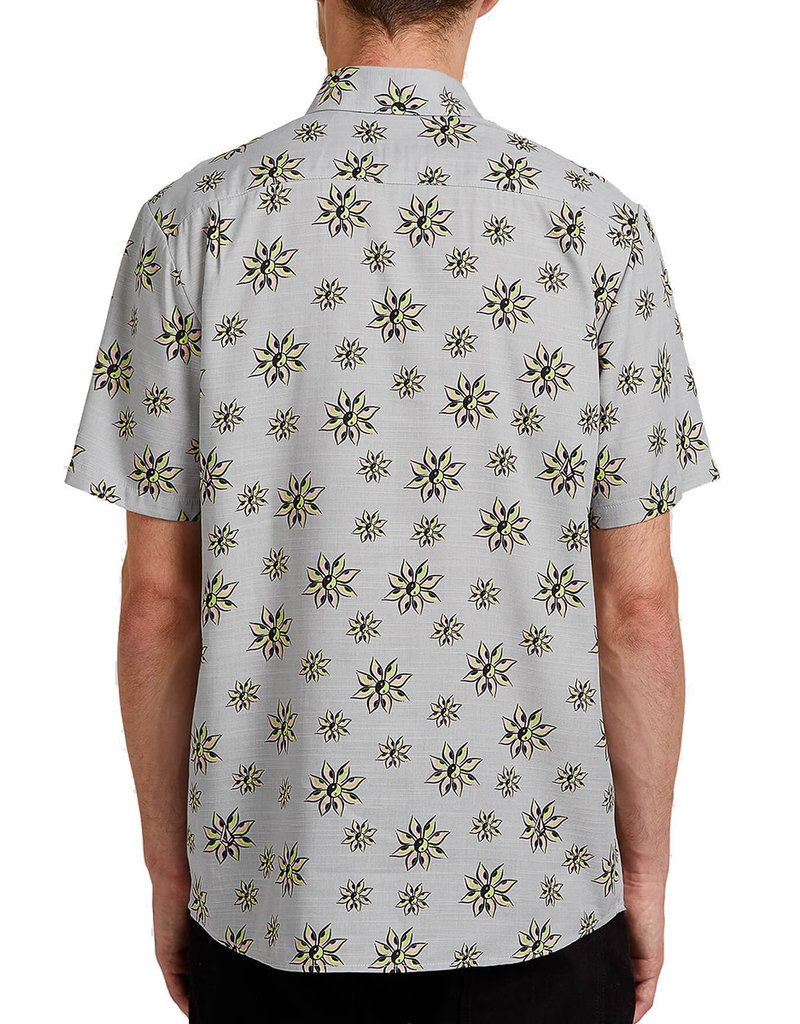VOLCOM BURCH BLOOM S/S - TOWER GREY
