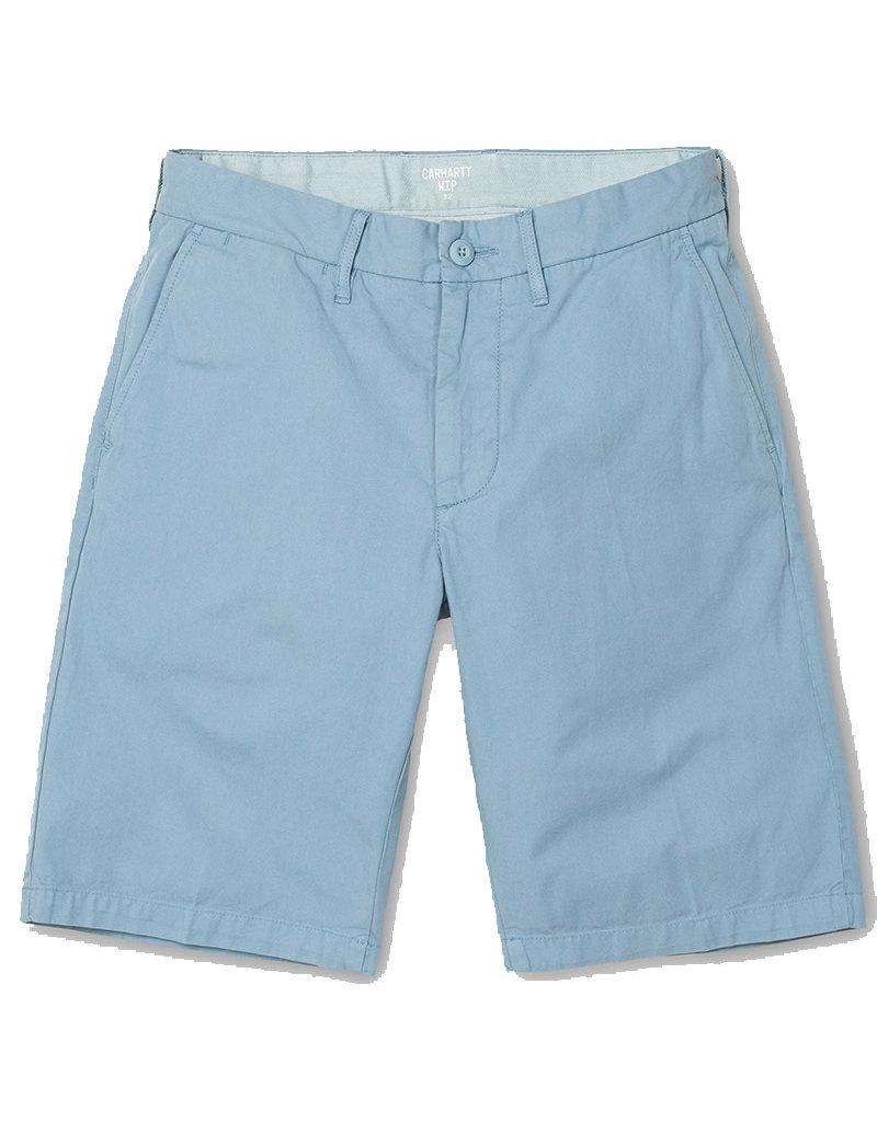 CARHARTT JOHNSON SHORT - DUSTY BLUE