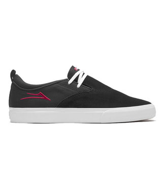 LAKAI RILEY 2 - BLACK/RED SUEDE
