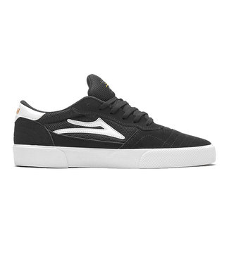 LAKAI CAMBRIDGE - BLACK/WHITE SUEDE