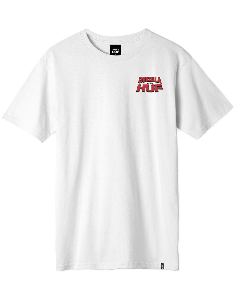 HUF DESTROY ALL MONSTERS S/S TEE - WHITE