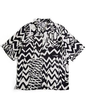 POLAR ART SHIRT - TK - BLACK