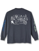 POLAR NOTEBOOK LONGSLEEVE - GRAPHITE