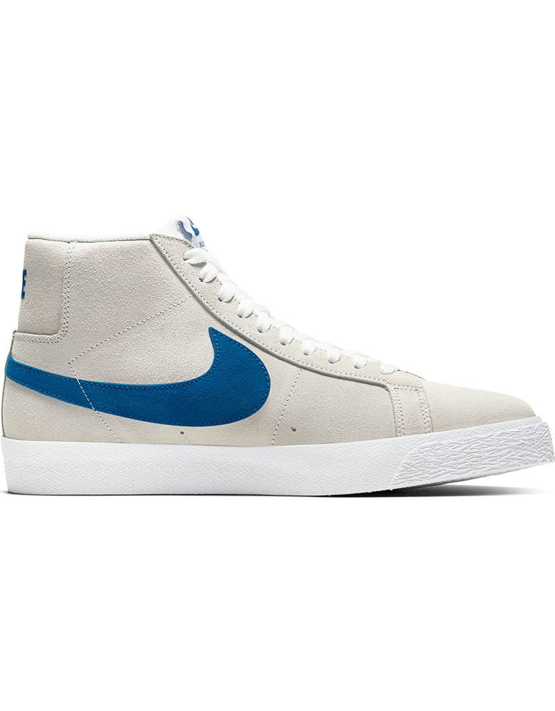 NIKE SB BLAZER MID - WHITE/TEAM ROYAL-WHITE-CERULEAN