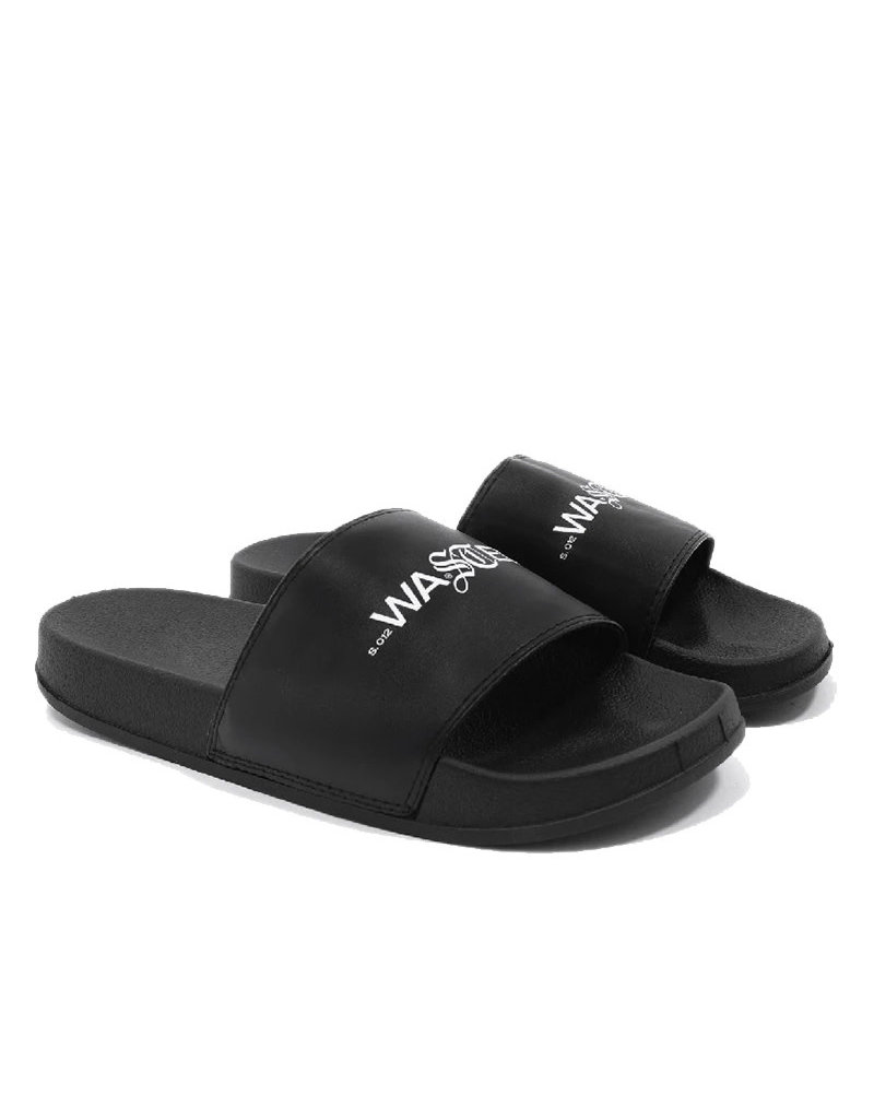 WASTED PARIS SIGNATURE FLIP FLOP - BLACK