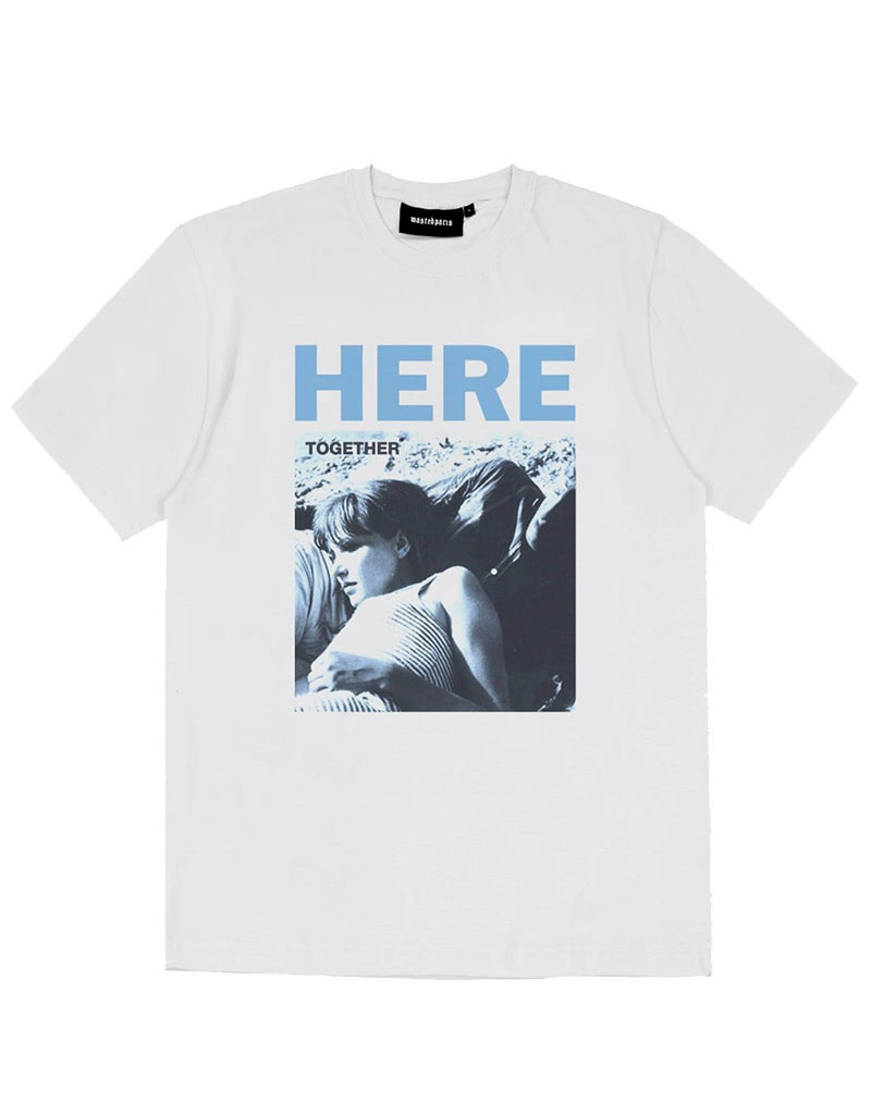 WASTED PARIS HERE TEE - WHITE