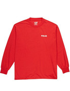 POLAR STAIRCASE LONGSLEEVE - RED