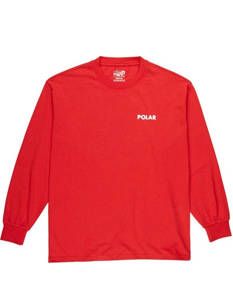 POLAR STAIRCASE LONGSLEEVE - RED