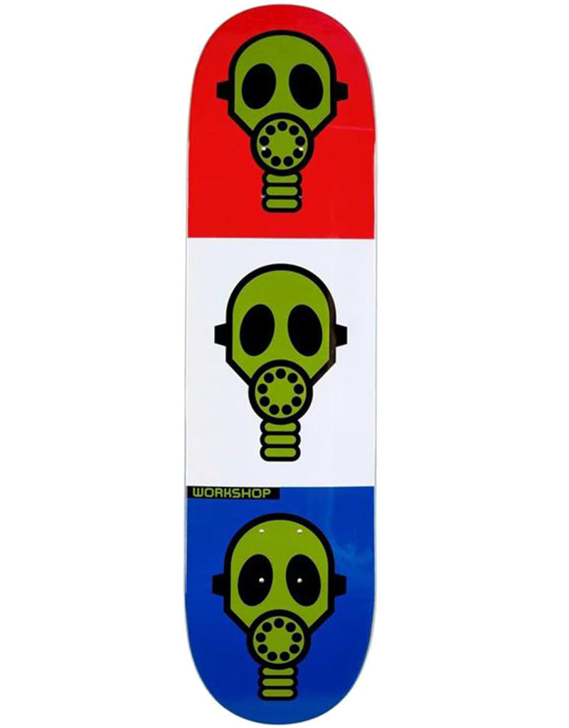 ALIEN WORKSHOP GAS MASK DECK BRIGHT - 8.25