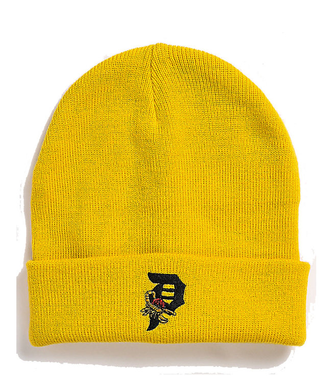 PRIMITIVE DIRTY P SCORPION BEANIE - GOLD