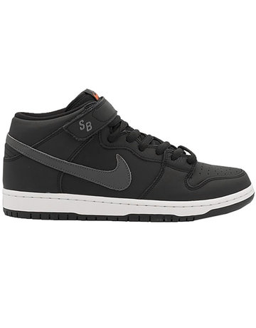 NIKE SB DUNK MID PRO ISO - BLACK/DARK GREY-BLACK-WHITE
