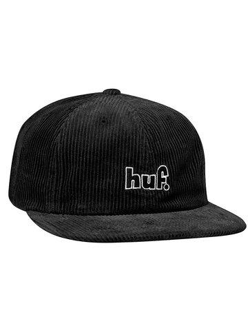 HUF 1993 LOGO 6 PANEL - BLACK
