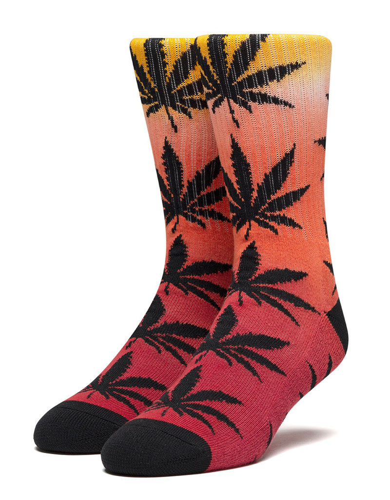 HUF PLANTLIFE GRADIENT DYE SOCK - RED