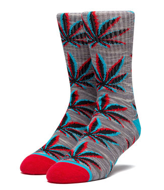 HUF STATIC PLANTLIFE SOCK - GREY HEATHER
