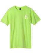 HUF ESSENTIALS CLASSIC H S/S TEE - BIO LIME