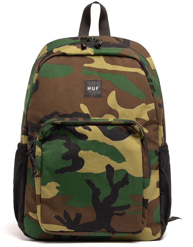 HUF STANDARD ISSUE BAG - WOODLAND CAMO