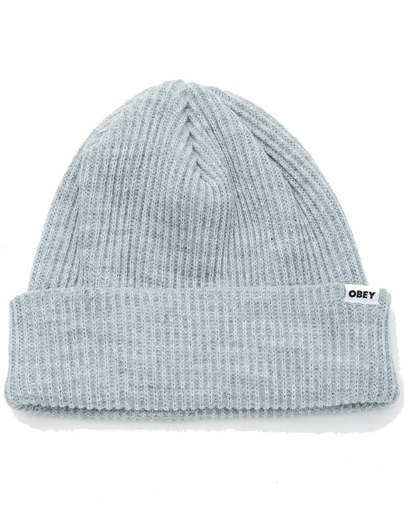 OBEY BOLD BEANIE - HEATHER GREY