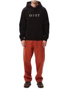 OBEY CURTIS HOOD - BLACK