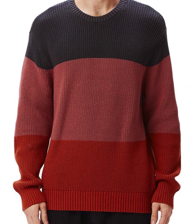 OBEY Joni Sweater - Navy Multi