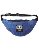 OBEY WASTED HIP BAG - DENIM