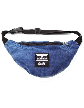 OBEY WASTED HIP BAG - DENIM