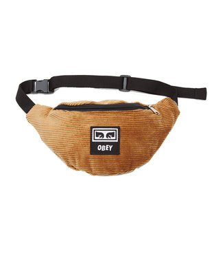 OBEY WASTED HIP BAG - DUCK BROWN