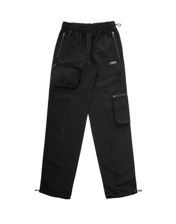WASTED PARIS BASSWOOD PANT - BLACK