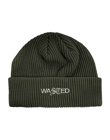 WASTED PARIS SAILOR BEANIE SIGNATURE - SLATE GREEN
