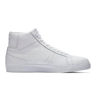 NIKE SB BLAZER MID - WHITE/WHITE-WHITE