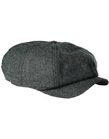 DICKIES TUCSON FLAT CAP - BLACK
