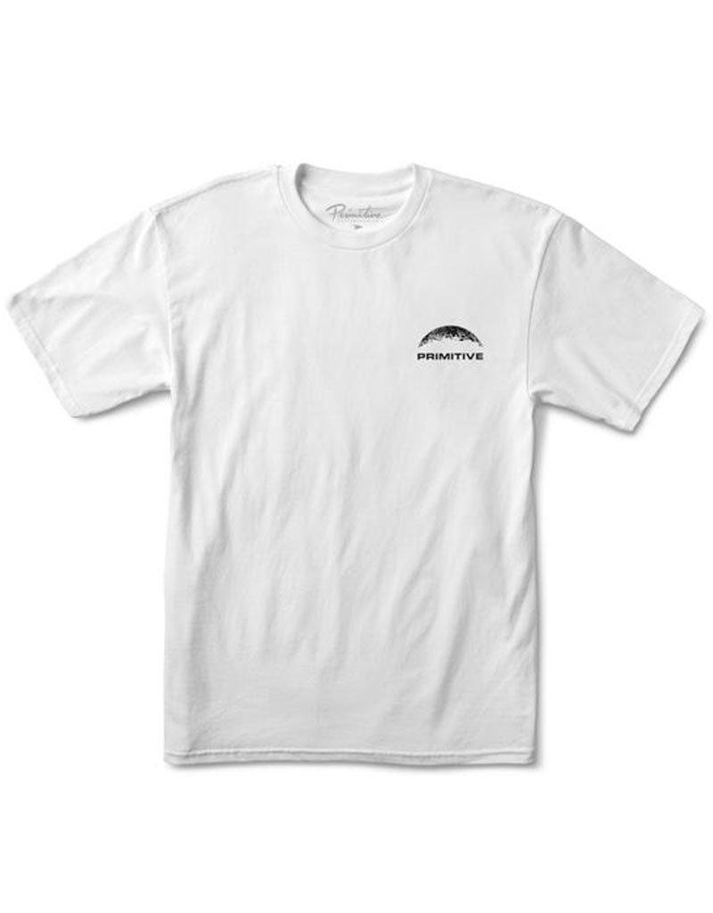 PRIMITIVE MOON TEE - WHITE