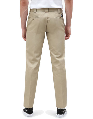 DICKIES 873 S/STGHT WORK PANT - KHAKI