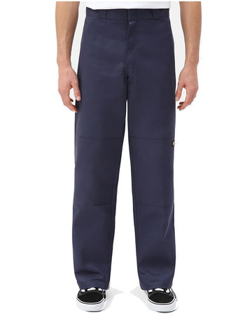 DICKIES DOUBLE KNEE WORK PANT - NAVY BLUE