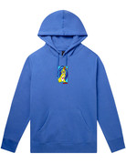 HUF MESSED UP BUNNY P/O HOODIE - DYNAMIC COBALT