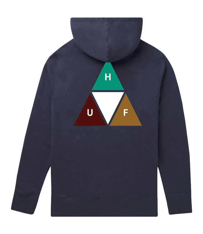 HUF PRISM TRAIL P/O HOODIE - FRENCH NAVY