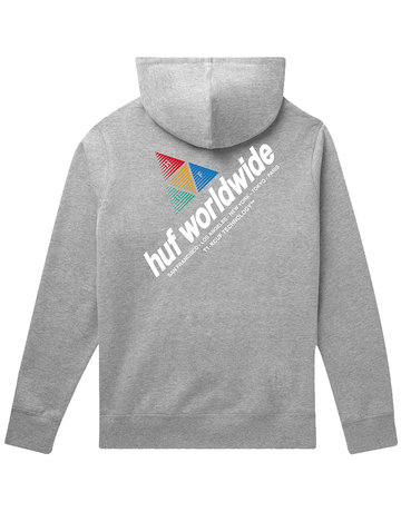 HUF PEAK SPORTIF P/O HOODIE - GREY HEATHER