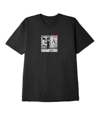 OBEY OBEY THE MEDIUM IS THE MESSAGE - BLACK